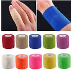 Multicolor Bandages Wraps Bands Adhesive First Aid Sports Tape Stretch Non-woven $0.9 USD on eBay