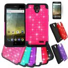 Phone Case For ZTE Sonata 3 / ZTE Avid 828 LTE Dual-Layered Crystal Cover Film