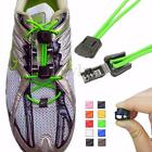 1 Pair Elastic No-Tie Locking Shoe Laces With Buckles For Running Sports Shoes