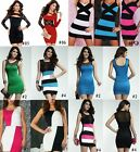 Sexy Women Lace Hollow Sleeveless Party Cocktail Clubwear Bodycon Pencil  Dress