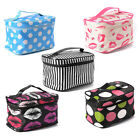 Portable Travel Makeup Cosmetic Toiletry Wash Case Bag Handbag Organizer