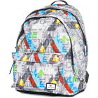 Rip Curl Double Dome Unisex Rucksack - Geo Party Grey One Size