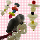 Pet Bites Parrot Climb Chew Toys Bell Swing Cage Hanging Cockatiel Parakee