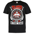 "T-SHIRT MMA ""THE MORE SWEAT IN TRAINING"" GYM BODYBUILDING MOTIVATION WORKOUT"