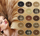 "15""-30"" Clip in Human Hair Extension Any Color Wholesale Black Brown Blonde NEW"