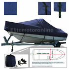 Wellcraft+233+Eclipse+Cuddy+Cabin+I%2FO+Trailerable+Boat+Cover+Navy