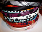 NWT CLAIRE'S WOMENS LOT OF 2 FABRIC HEADBANDS US SELLER #H-B*