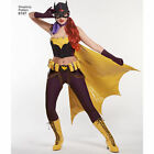 SEWING PATTERN SIMPLICITY Women's Retro Batgirl Costume Cape Belt 6 to 22 8197