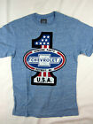 GM Chevrolet Genuine Parts Service racing shirt men's premium blue choose A size