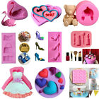 Silicone Fondant Cake Mold Baking Tool Party Jelly Candy Cake Decor Mould DIY