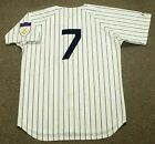 MICKEY MANTLE New York Yankees 1951 Majestic Cooperstown Home Baseball Jersey