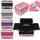 Professional Aluminum Makeup Train Case Jewelry Box Storage Cosmetic Travel Case