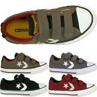 New All Star Velcro Chuck Taylor Converse Kids Sports Childrens Trainers Shoes