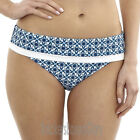 Panache Swimwear Rocha Fold Bikini Brief/Bottoms Mosaic Print SW0977 Select Size
