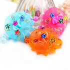 2 X Girls Jewelry Hair Ropes Lace Rose Flower Baby Headwear Elastic