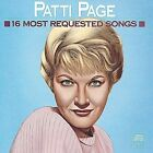 16 Most Requested Songs by Patti Page (CD, Jun-1989, Legacy) BRAND NEW