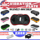 2016 Ultrathin Mini Fit Vibration Platform Plate Massage Machine Fitness Gym