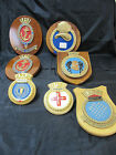 Wooden Admiralty Plaques x 7