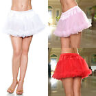 Plus Size Lingerie One Size Queen Black Pink Red or White Petticoat   STM10201X