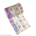 10PCs Washi Adhesive Tape DIY Scrapbooking Sticker Stationery School Supplies