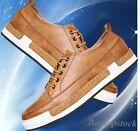 Hot Fashion Men's Lace Up British Style Retro Low-top Casual Collegiate Shoes