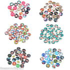 20PCs Mixed Christmas Glass Dome Cameo Cabochon Embellishment Findings 16mm