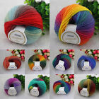 New 10 colors Pick Baby Soft Wool Crochet Cotton 50g Knitting Wool Thick Yarn YG