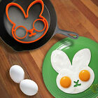 Funny Rabbit Bunny Silicone Egg Mold Ring Fried Egg Kitchen Gadgets Tools PSHG