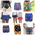 Summer Short Beach Shorts Pants Casual Fashion Lady's Women High Waist Hot