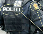 FANCY DRESS COSTUME Norwegian Police Politi-og lensmannsetaten POLITI VeIcrọ Set