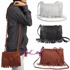 2016 Hot Women Fringe Tassel PU Leather Handbag Shoulder Messenger Hand Bags S