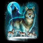 Silhouette Wolf S/M-L/XL- 2X/3XL Cover Up Nightshirt