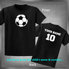 Soccer, Spirit Wear Personalize with Name & Number Infant 6M-Youth XL_
