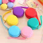 Women Purse Macaron Silicone Waterproof Wallet Pouch Coin Bag as Girl Gift