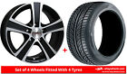 Alloy Wheels & Tyres 18'' Calibre Highway For Honda Civic Type-R [Mk9] 15-16