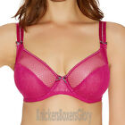 Freya Lingerie Hero Underwired Side Support Plunge Bra Berry 1841 Select Size