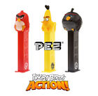 PEZ Heads Dispenser ANGRY BIRDS Action New+2 Refills)(Movie/Sweets/Candy/Gift)