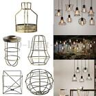 Edison Iron Vintage Ceiling Light Fitting Lamp Bulb Cage Bar Cafe Lampshade