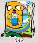 For TV  Movies Adventure Time Drawstring Backpack Cosplay Bag 36x50cm MM217