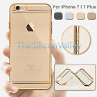 Luxury Crystal Clear Soft TPU Shockproof Case Cover for Apple iPhone 7 / 7 Plus+