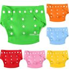 6 PCS Newborn Baby Hip Snaps Wrap Cloth Diaper Nappy Nappies Reusable Sets S0BZ
