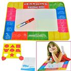 Kids Water Drawing Painting Writing Mat Board &Magic Pen Doodle Toy Gift 2 Size