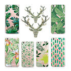 New Soft Plants Cactus Banana Leaves Back Case Cover For Iphone 7 7Plus