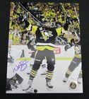 Nick Bonino Pittsburgh Pengins Autographed/Signed 11x14 Photo JSA WP53650