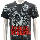 Rock Band T-shirt Avenged sevenfold A7X Punk Vtg Nightmare Many Size ARTF