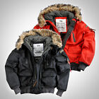 Alpha Industries warme Winter Herren Jacke Mountain Jacket Winterjacke Parka