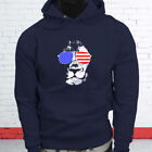 American Lion Independence Fourth Of July Top Day Mens Navy Hoodie