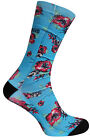 Vans Star Wars Crew Socks Mens Yoda Blue VXY1E4Q R3A