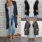 Women Long Sleeve Knitted Cardigan Loose Sweater Outwear Coat Casual Sweater New