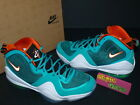 2012 Nike Air Penny V 5 Miami Dolphins New Green White Orange 537331-300